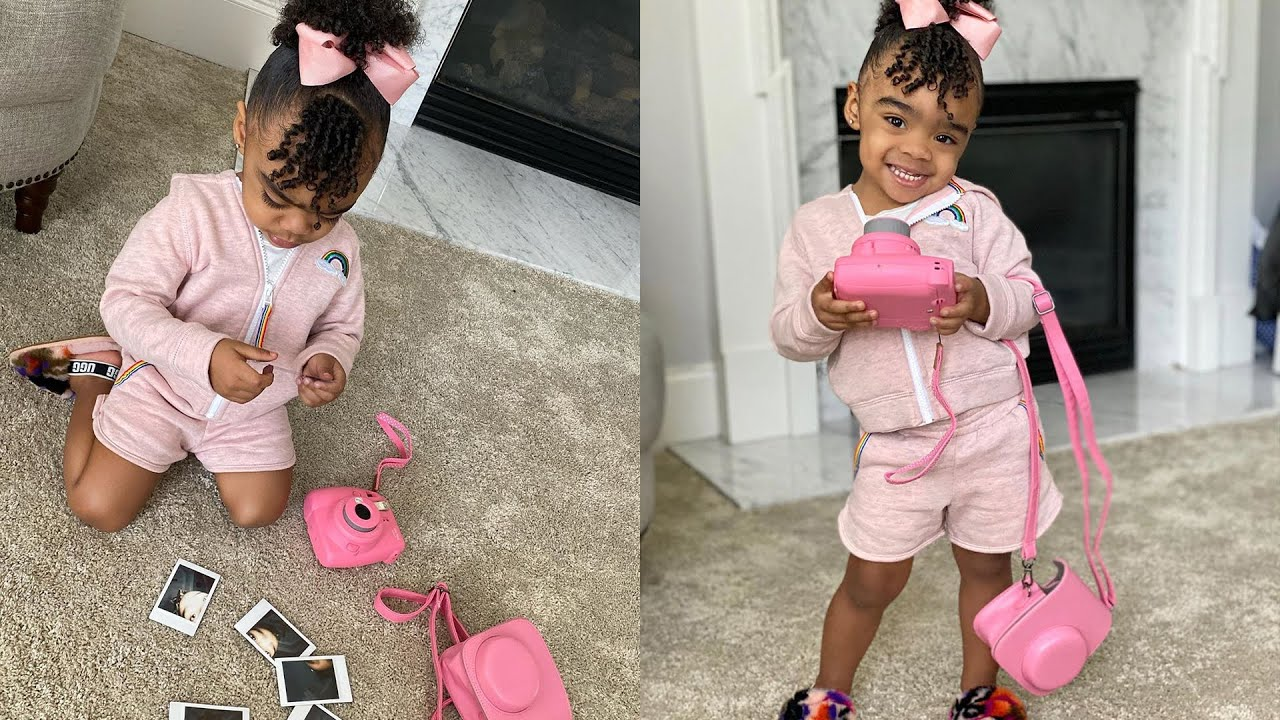 Toya Johnson Teaches Reign Rushing The Love For Plants - Check Out The Young Lady Caring