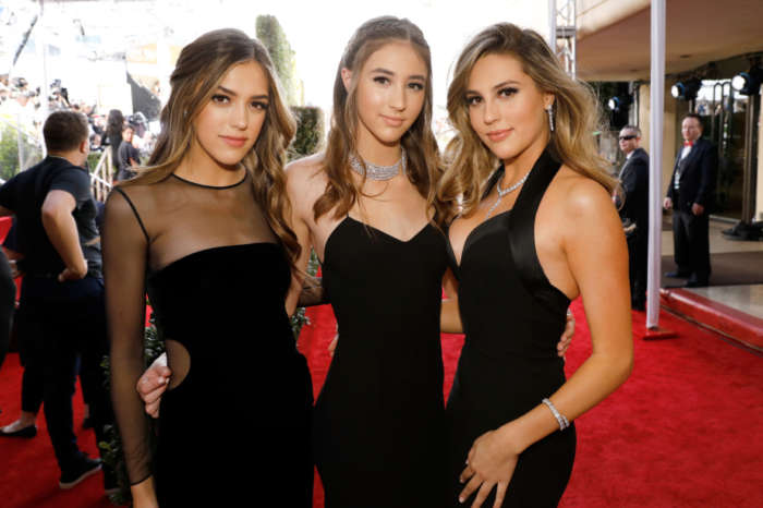 Sylvester Stallone's Daughters Look As Hot As Ever While Out With Their Dad - Check Out Their Matching Leather Outfits!