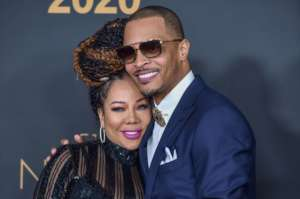 Tiny Harris Impresses Fans With This Throwback Photo In Which She Rocks A Blue Dress