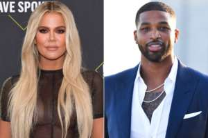 KUWTK: Khloe Kardashian Stuns In All White At Tristan Thompson's July 4th Party!
