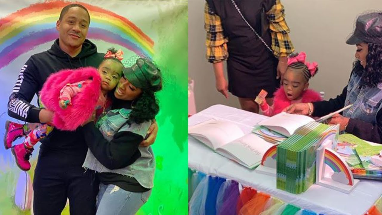 Robert Rushing Takes His Girls, Toya Johnson And Reign Rushing On A Tour In His Hometown - See The Gorgeous Photos