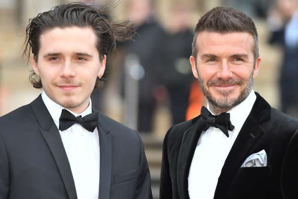 David Beckham Writes The Sweetest Message Congratulating Son Brooklyn On Getting Engaged!