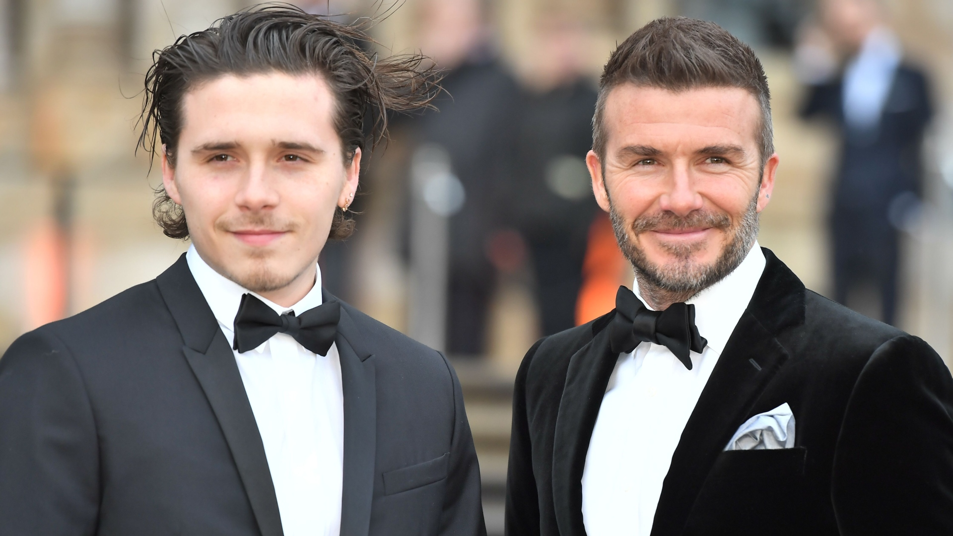 Brooklyn Beckham Shares Engagement Photo Taken By Younger Sister Harper!