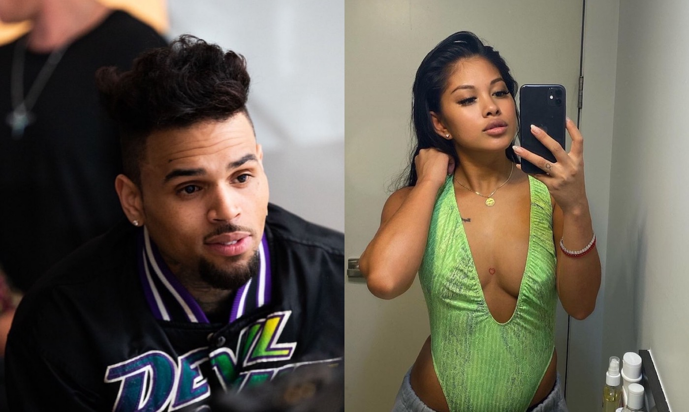 Chris Brown's Baby Mama, Ammika Harris Mesmerizes People With These Lingerie Photos That Have Fans Calling Her 'Breezy Queen'