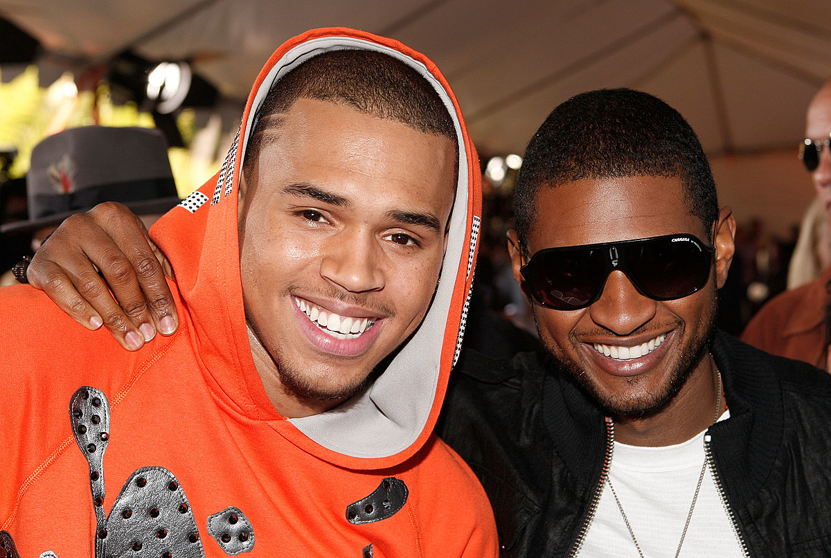 Chris Brown And Usher Are Trending Following A Social Media Debate