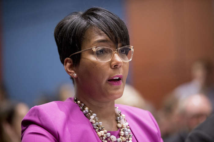 Atlanta Mayor Keisha Lance Bottoms Said That Governor Kemp Is Trying To Keep Her From Speaking To The Press About This Subject