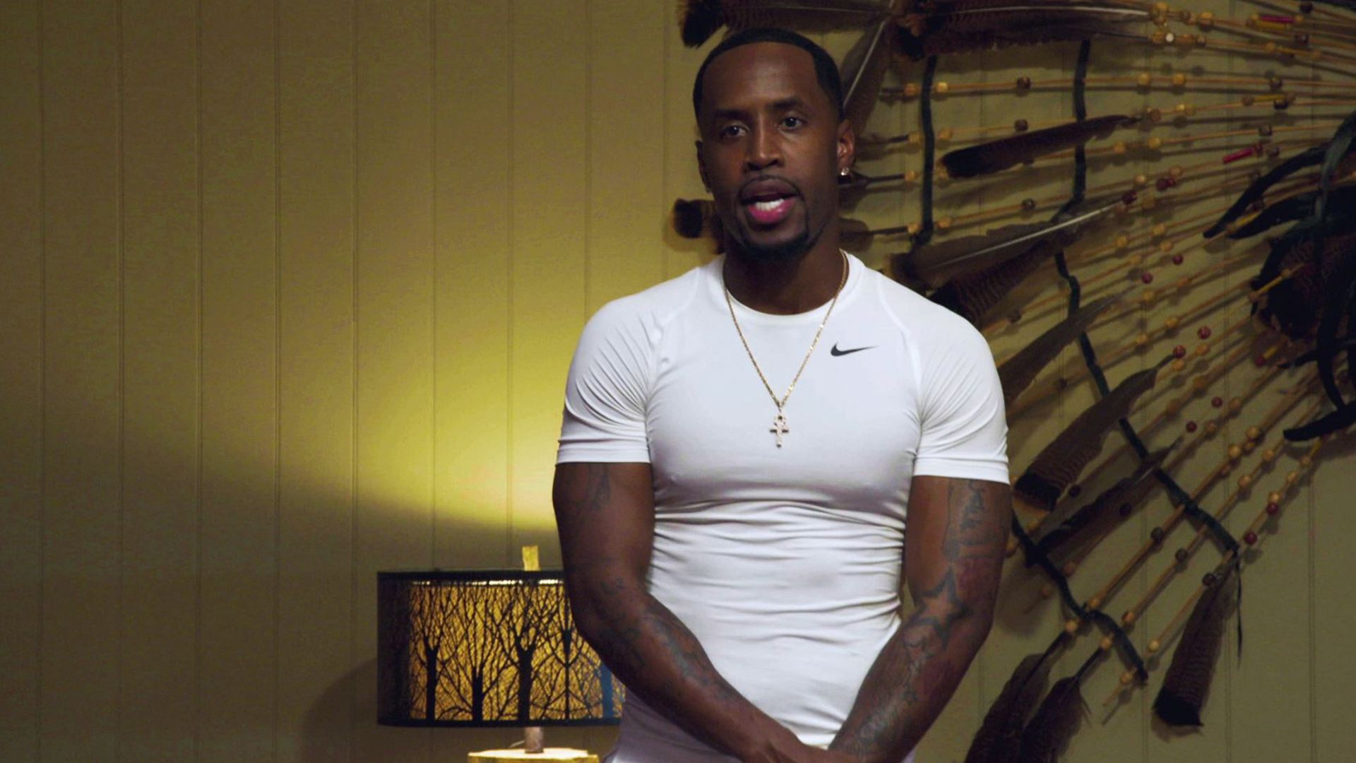 Safaree Puzzles Fans With This Shirtless Video In Which He's Watering The Garden