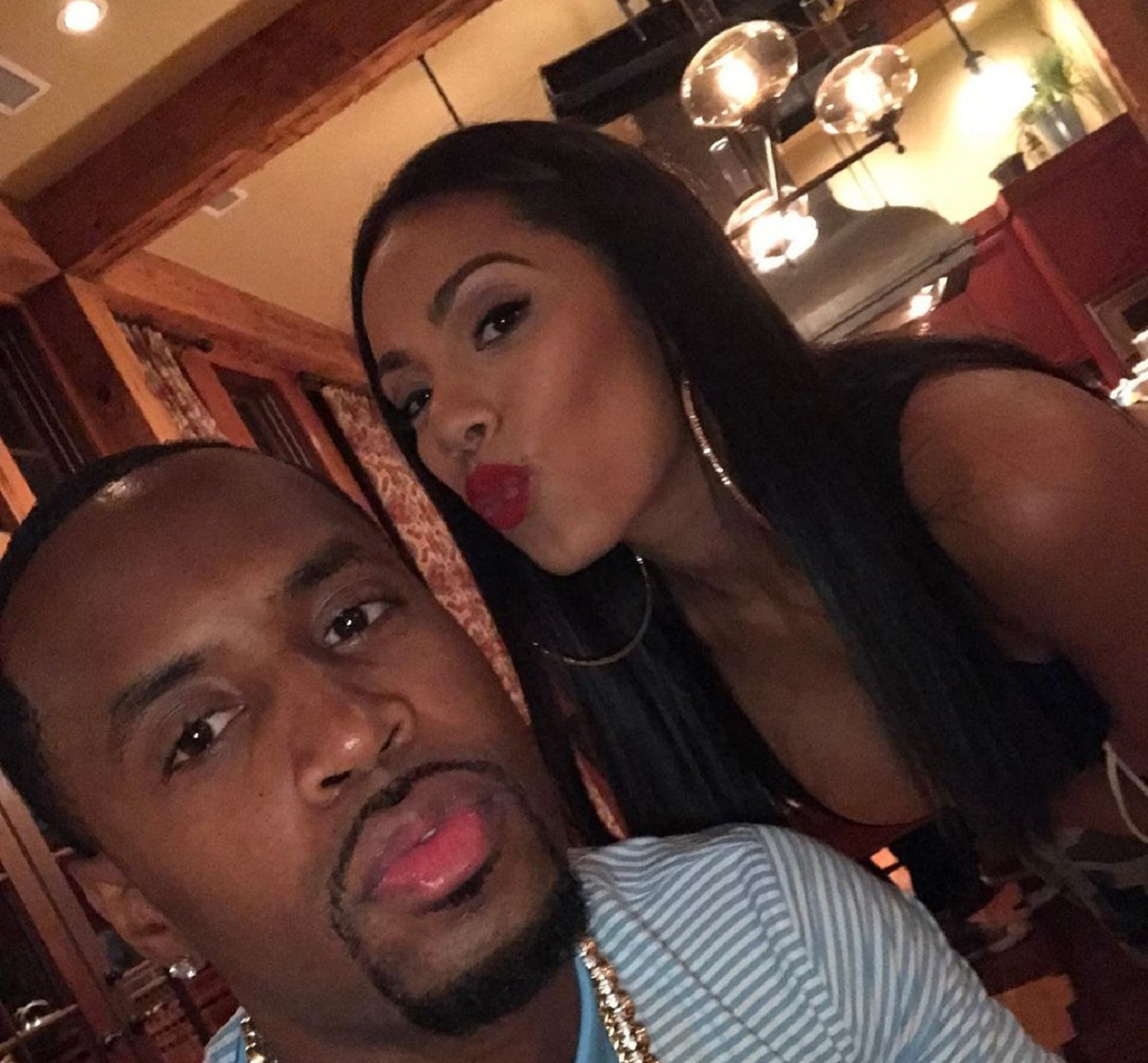 Erica Mena And Safaree Break The Internet With These NSFW Photos - See Them Here And Enjoy Erica's Jaw Dropping Curves - Fans Exclaim: 'So Trashy!'