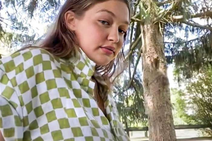 Gigi Hadid Shows Off Her Baby Bump In Pyjamas From Holiday The Label