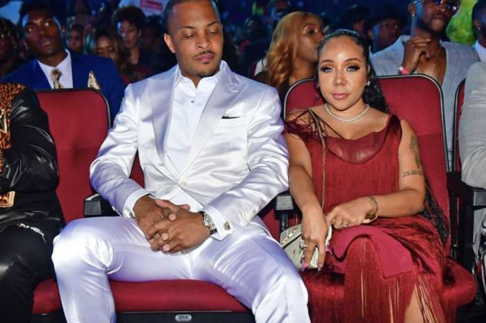 Tiny Harris Poses In A Skimpy Neon Green Outfit And T.I. Is Here For It