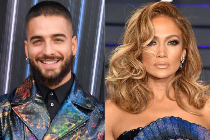 Jennifer Lopez And Maluma Working Together On New Music - Check Them Out In The Studio!