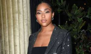 Jordyn Woods Rocks Her Curves In This Pink Skin-Tight Dress - Fans Ask For A Beauty Line