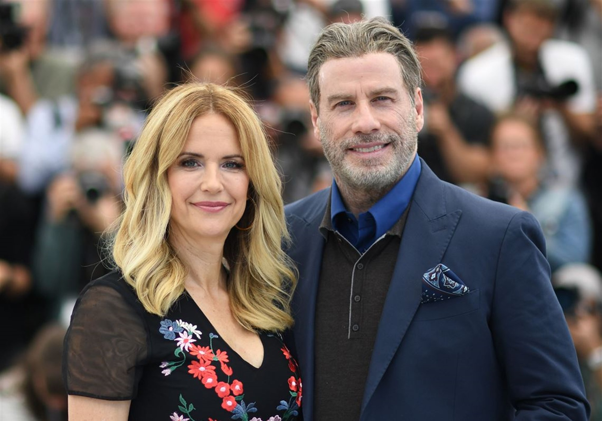 Kelly Preston John Travolta Fans Mourning