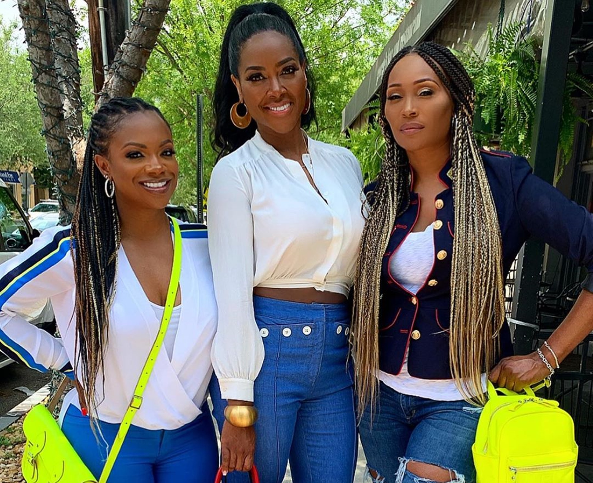 Eva Marcille Shows Support For Cynthia Bailey, Kenya Moore And Kandi Burruss' Businesses
