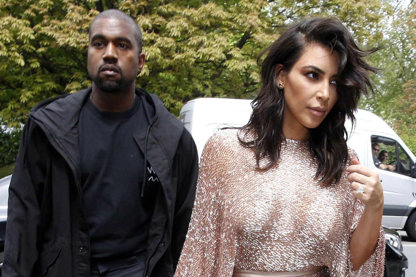 Kim Kardashian And Kanye West Reunite For The First Time Following His Apology - See The Pics