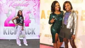 Kandi Burruss Shares Another Jaw-Dropping Photo Of Todd Tucker's Daughter, Kaela Tucker