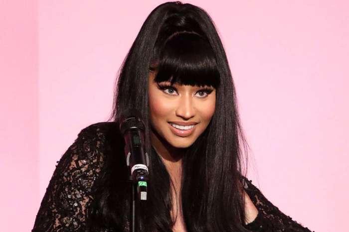 Nicki Minaj Puts Her Baby Bump On Display In Behind The Scenes Clip Of Her New Music Video!