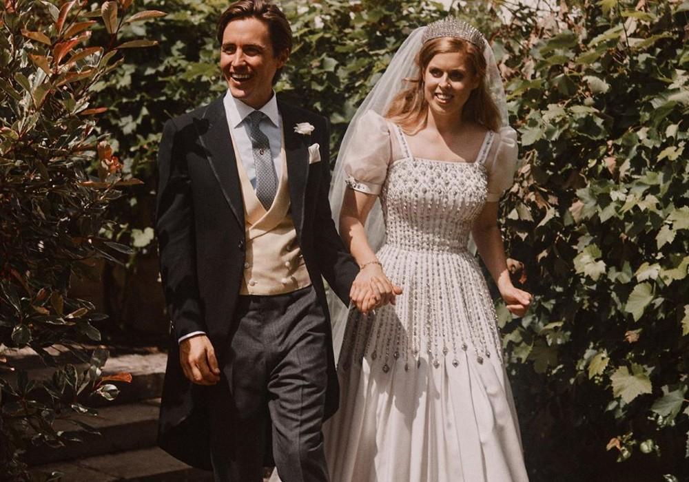 Princess Beatrice's Wedding Dress & Tiara Were Reportedly Second-Hand