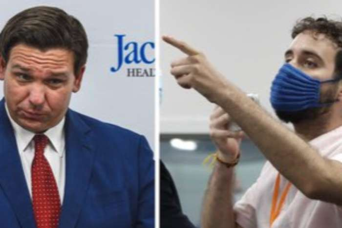 Florida Governor Ron DeSantis Heckled By United We Dream Director Thomas Kennedy Over Coronavirus Deaths During Press Conference — Watch Video