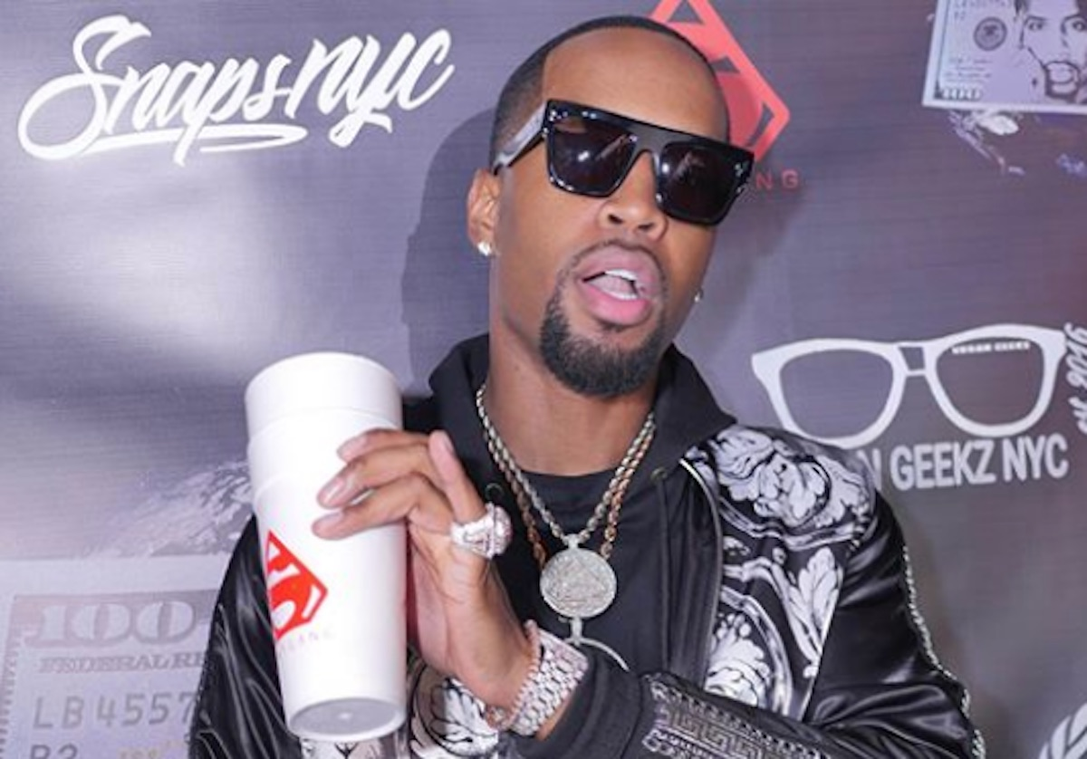Safaree Takes Care Of His Home And Shows Fans What Erica Mena Got Him