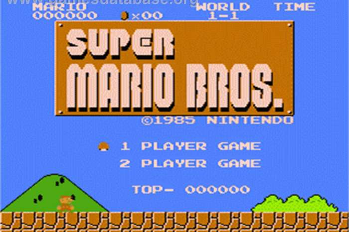 Original Sealed Copy Of Super Mario Brothers Sells For Over $110,000