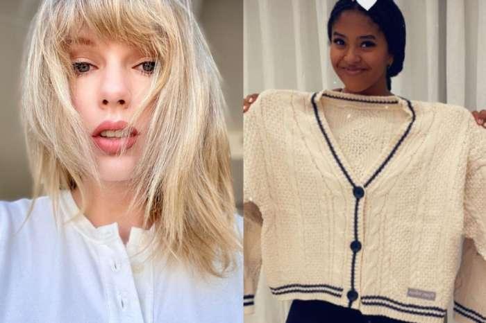 Taylor Swift Sent Natalia Bryant, Kobe's And Vanessa's Daughter, A Folklore Cardigan