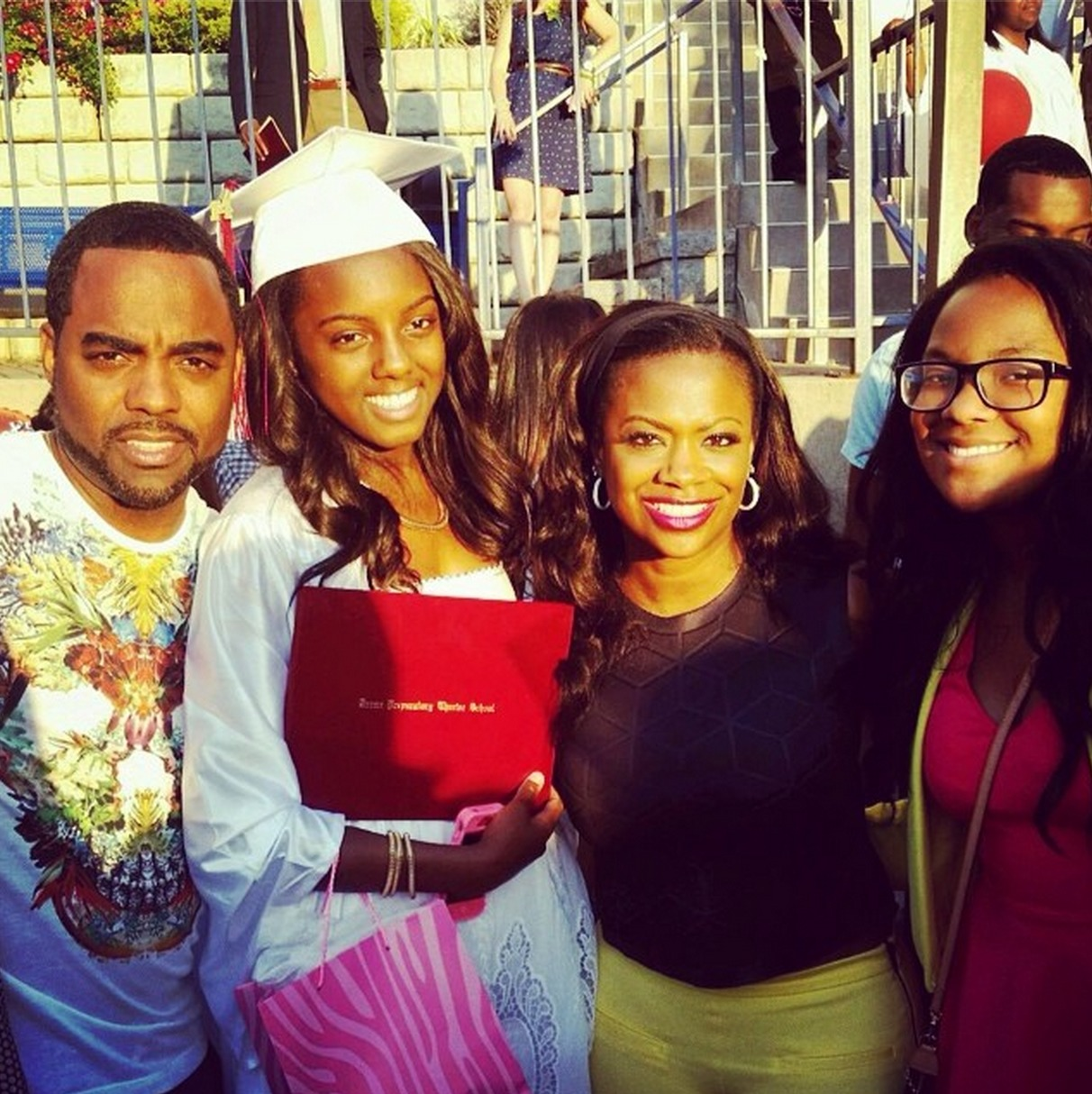 Todd Tucker Voted With His Two Queens, Kandi Burruss And Kaela Tucker