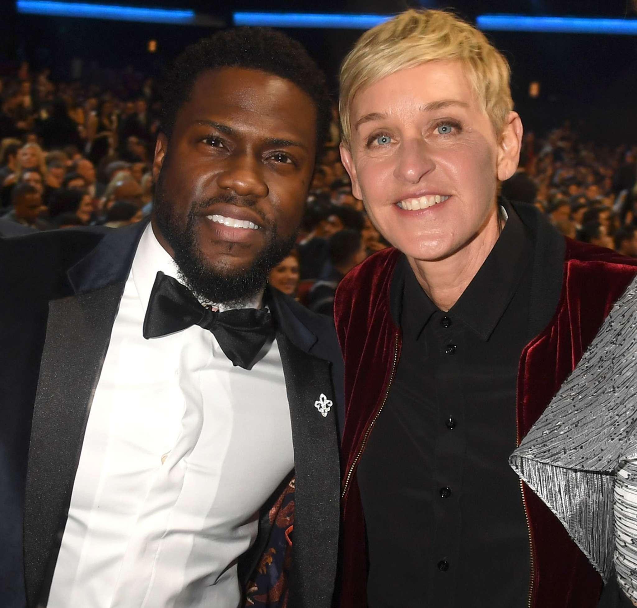 Kevin Hart Has A Message For Ellen DeGeneres Amid Discrimination Drama