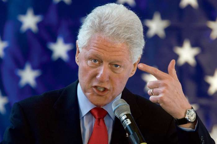 Court Case Against Ghislaine Maxwell Reveals Picture Of Bill Clinton Getting A Massage By One Of Epstein's Accusers