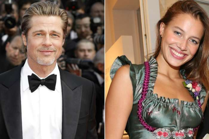 Brad Pitt Reportedly Seen Kissing Beautiful German Model Nicole Poturalski - Details!