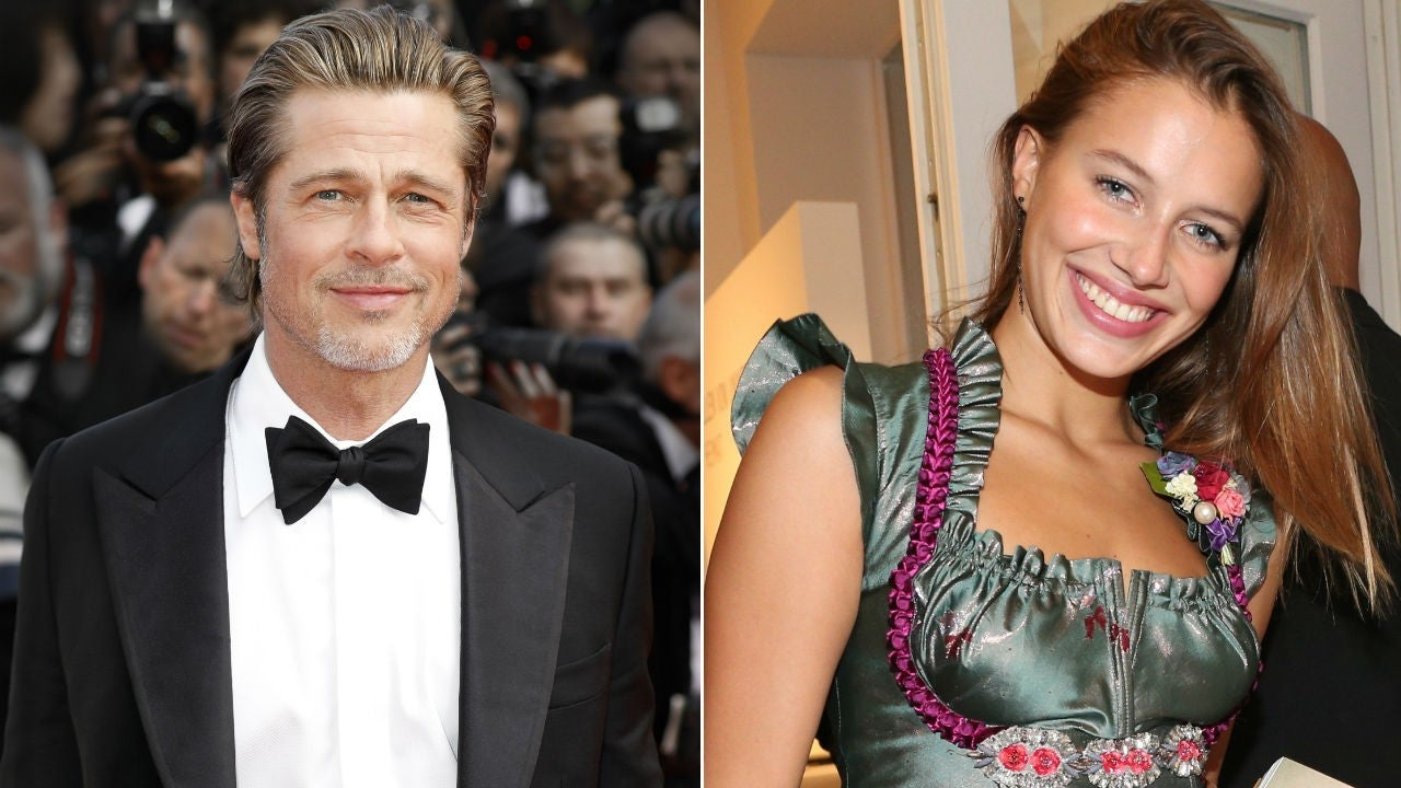 Brad Pitt Reportedly Seen Kissing Beautiful German Model Nicole Poturalski Details Celebrity Insider
