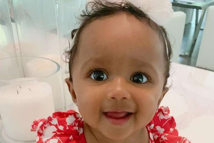 Kenya Moore's Baby Girl, Brooklyn Daly Is A Tough Cookie In This Video