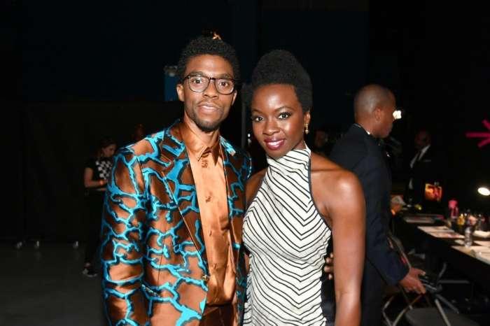 Danai Gurira Honors Chadwick Boseman In The Most Touching Way!