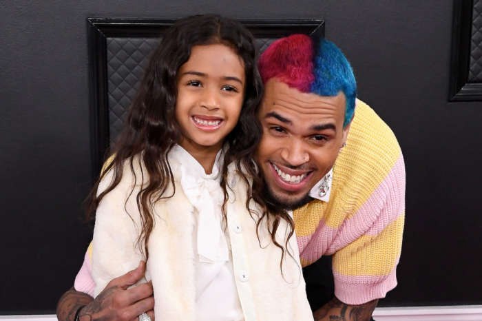 Chris Brown's Daughter Royalty Does The Coolest Most Graceful Backflip During Gymnastics Lesson - Check Out The Video!