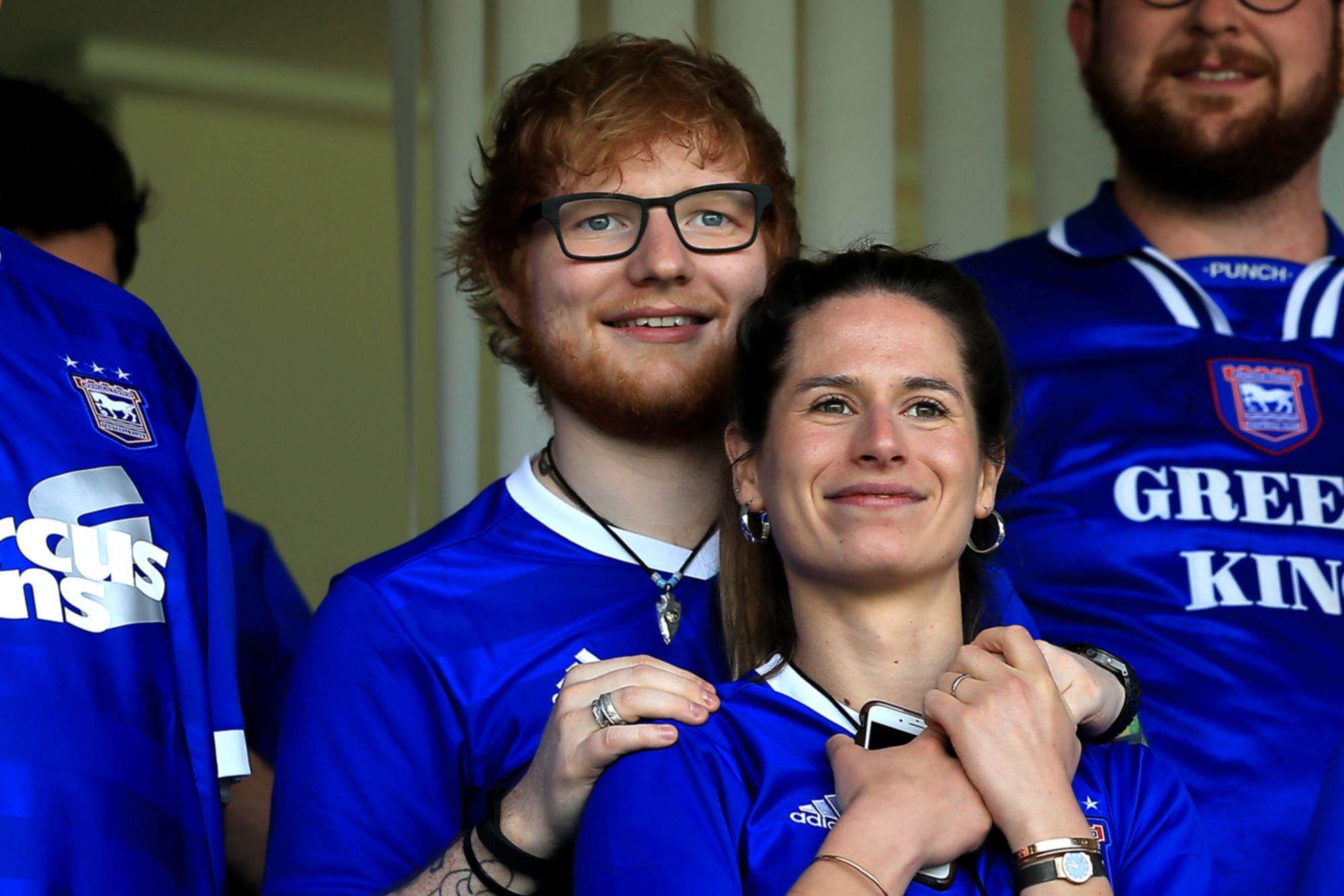 Ed Sheerans Wife Pregnant - Baby Due Any Day Now After