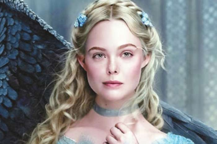 Elle Fanning Brings Out Her Inner Princess Aurora In Sleeper Dress