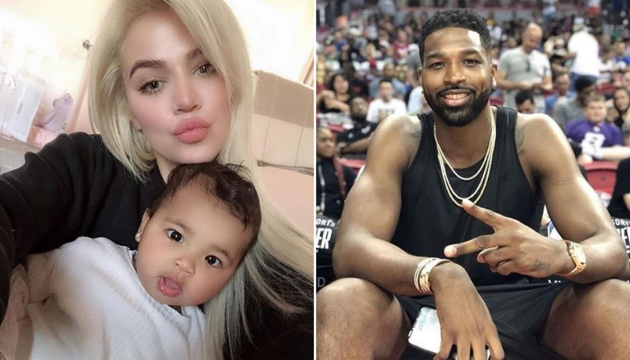 tristan-thompson-poses-with-his-and-khloe-kardashians-daughter-calling-her-twin-people-criticize-him-for-this-reason