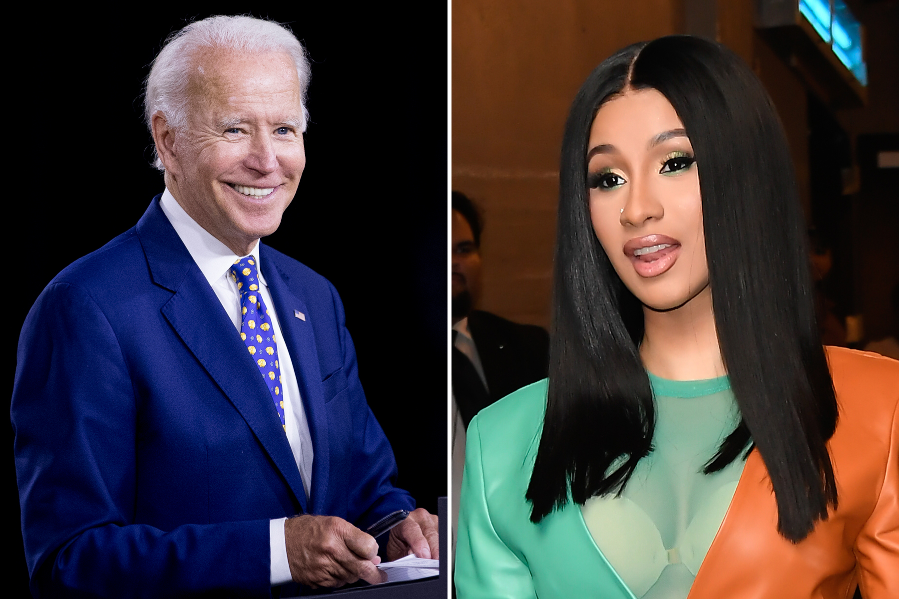 """""""cardi-b-tells-it-to-joe-bidens-face-that-shes-voting-for-him-just-because-she-wants-trump-out"""""""