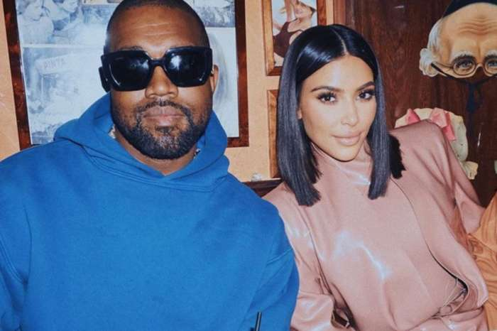 Kim Kardashian Wears Painted Dress As She And Kanye West Desperately Try To Save Their Marriage
