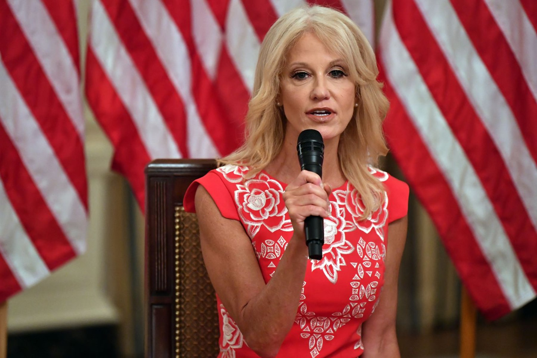 Kellyanne Conway Donald Trump White House Exit