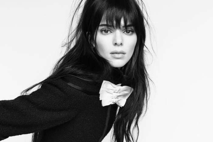 Kendall Jenner Puts Her Fabulous Physique On Display In Black Mini Skirt
