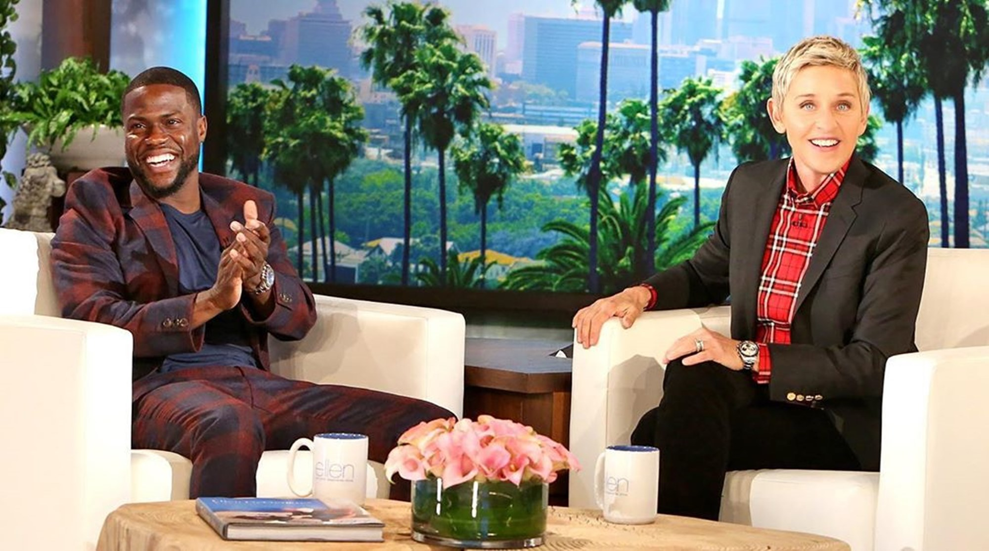 Kevin Hart Ellen DeGeneres Support