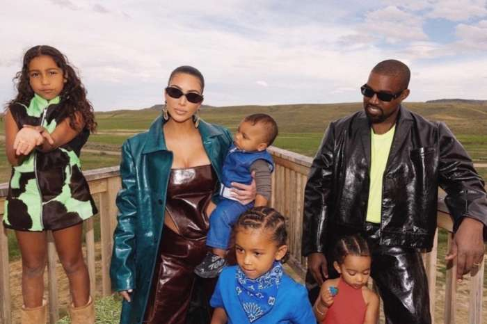 Kanye West Shares A Fun Video Of Himself With North West And Kim Kardashian