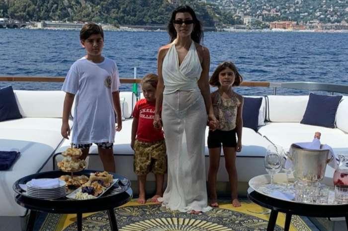 Kourtney Kardashian's Son Mason Disick Takes Amazing Photograph Of His Mother
