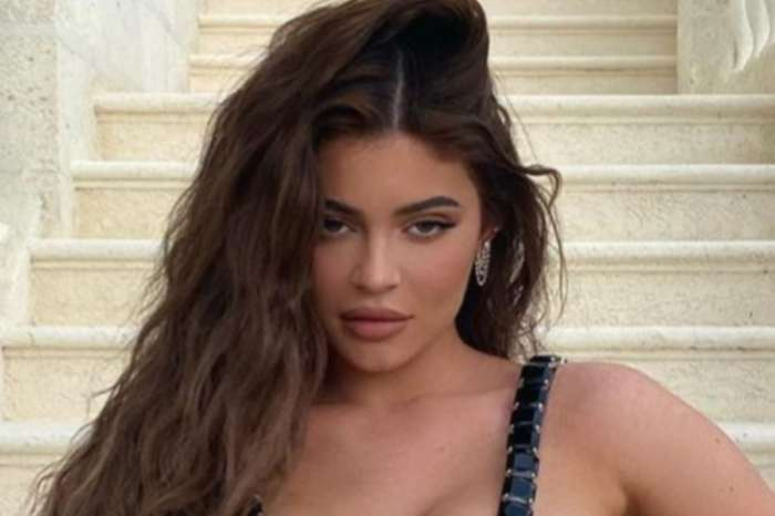 Kylie Jenner Puts Her Curves On Full Display In Leo Laced Top