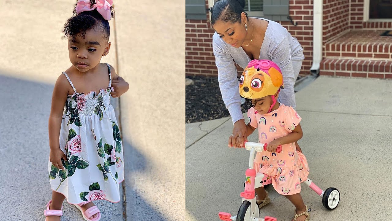 Toya Johnson's Latest Videos Featuring Her Daughter Reign Rushing, In Her Room Will Make Your Day!
