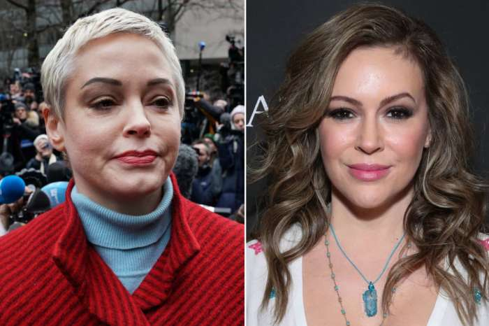 Rose McGowan Claps Back At 'Fraud' Alyssa Milano - Says She Was 'Toxic' On The Set Of 'Charmed' And More!