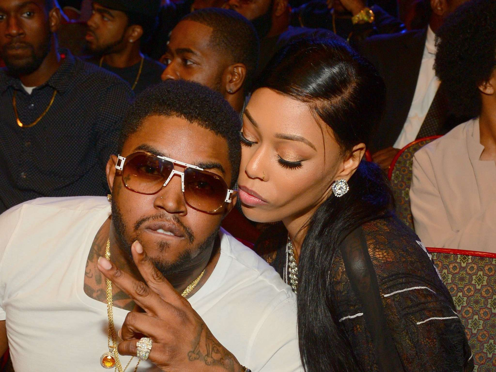 LIl Scrappy And Bambi Benson Welcome Their Second Child! See The Pics