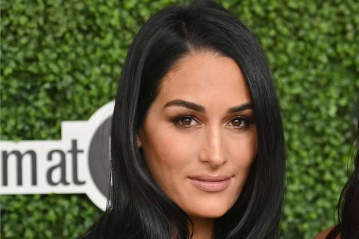 Nikki Bella Posts Pic Of A Fully Awake Baby Matteo And Fans Can't Stop Talking About Him Looking Just Like His Dad!