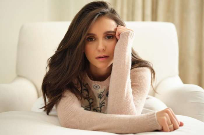 Nina Dobrev Shows Off Her Legs In Thigh High Slit Dress — See The Photo!